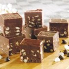 Irish Cream Truffle Fudge - This is 'wicked good' stuff! This creamy sweet confection will disappear as fast as a wink.