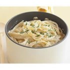 PHILADELPHIA Smarter Fettuccine Alfredo - Enjoy alfredo again. This creamy sauce is guilt-free when prepared with light cream cheese and reduced-fat parmesan cheese.