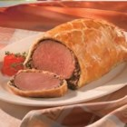 Campbell's Kitchen Beef Wellington - This classic favorite is always a winner: Rare roast beef tenderloin topped with sauteed mushrooms is encased in a flaky pastry and baked until golden. For any special occasion, make this elegant entree easy with Pepperidge Farm(R) Puff Pastry Sheets.