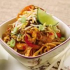 Classic Pad Thai - This recipe is a perfect example of Thai cooking for beginners. Once mastered, you'll forget stopping for take-out and make this easy stir-fry a weeknight staple.