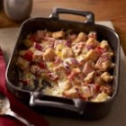 Creamy Ham and Cheese Casserole - Ham and cheese--a classic pairing--make a delicious, hot and creamy casserole that's on the table in under an hour.