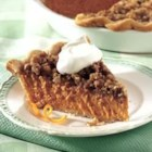 Streusel-Topped Pumpkin Pie - A brown sugar streusel topping adds a new twist to traditional pumpkin pie. Refrigerated pie crust makes it easy!