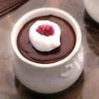 Mocha Pots De Creme - Classic chilled chocolate dessert gets a burst of coffee flavor.