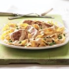 Pork Medallions Alfredo - Our quick and creamy Alfredo sauce is the crowning glory of this delicious pork dish.