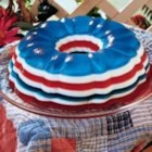 Patriotic Gelatin Salad - Almost as spectacular as the fireworks, this lovely salad make quite a 'bang' at our July Fourth meal. It's exciting to serve, and our guests loved the cool fruity and creamy layers. This salad really added to my patriotic theme.                                              --Sue Gronholz, Columbus, Ohio