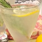 Rosemary Lemon Margarita - The rosemary infuses the flavor of the tequila while the lemon provides a hint of sweetness in this refreshing margarita that goes perfectly with all kinds of appetizers and grilled foods.