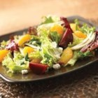 Beet, Fennel and Mandarin Orange Salad - Roasted beets and sweet oranges are dressed with a sherry-shallot vinaigrette in this flavorful salad.