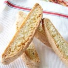 Coconut Walnut Biscotti - A new version of an old favorite. The coconut adds flavor and texture.