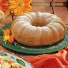 Pear Bundt Cake - Five simple ingredients are all Veronica Ross needs to fix this lovely light dessert. Tiny bits of pear provided sweetness to the moist slices, which she serves in her Columbia Heights, Minnesota home.