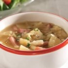 Ham, Potato and Cabbage Soup - Mouthwatering, traditional flavors come together in this satisfying soup reminiscent of grandmother's kitchen.