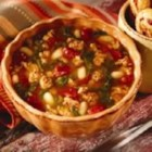 Hearty Harvest Soup - Italian sausage and a bounty of vegetables join together in this flavorful soup.