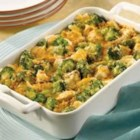 Campbell's Kitchen Chicken Broccoli Divan - This saucy classic pairs cooked chicken or turkey with broccoli in a cheesy sauce, which stirs together easily. Bake until piping hot and serve with hot biscuits or noodles.