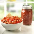 Fiesta Salsa - Tasty salsa is easy using Ball(R) Fiesta Salsa Mix and either fresh or canned tomatoes.