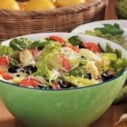 Lemon Artichoke Romaine Salad - 'I created this dish when I was trying to duplicate a very lemony Caesar salad,' recalls Kathleen Law of Pullman, Washington. 'I think my version is not only delicious but more healthful, too!'
