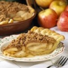 Peanut Crumb Apple Pie - The only thing that beats a freshly baked apple pie is one topped with this peanut butter crumb topping.