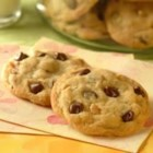 Original Nestle(R) Toll House(R) Chocolate Chip Cookies - Get your glass of ice cold milk ready! Each cookie, loaded with chocolate chips and nuts, is a treat worthy of dunking. Try them as pan cookies, cut into brownie-like squares.