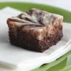 PHILLY Cheesecake Brownies - Cheesecake batter made with light cream cheese is swirled into a brownie base to make a rich tasting marbled chocolate treat.