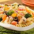 Classic Italian Pasta Salad - Perfect for a buffet or a barbecue. Customize with your favorite vegetables.