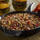 Black Beans and Rice Chili - Turn Zatarain's Black Beans and Rice Mix into a one-skillet chili meal that the whole gang will love. Corn and red bell pepper add color and texture to this flavorful dish.