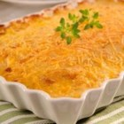 Becel(R) Cheesy Scalloped Potatoes - Cheddar cheese and fresh thyme bring out the best in these creamy, tender scalloped potatoes. Try this recipe tonight using Becel(R) Buttery Taste, with irresistible flavor and 80% less saturated fat than butter.