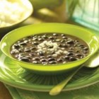 Black Bean Soup - A versatile side or main course, black bean soup is a classic dish from Cuba that is enjoyed throughout Latin America and the Caribbean. Black bean soup recipes allow for great versatility as a soup that stands alone or poured over rice for an elegant and unexpectedly flavorful main course. Our GOYA(R) Cuban Black Bean Soup packs a delicious, seasoned bite that won't overwhelm the satisfying texture of our naturally low-fat beans.