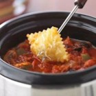 Supreme Pizza Fondue - Serve this pizza-flavored appetizer dip for a teen's birthday or graduation party.