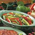 Grilled Peppers and Zucchini - 'This versatile side dish is so simple and quick that I had to share it,' says Karen Anderson, Fair Oaks, California. Grilling the colorful veggies in a foil packet means one less dish to wash, but Karen often stir-fries the mixture on the stovetop instead.