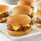 French Onion Sliders - These delicious sliders pack all the flavor of our famous French Onion Burgers into these fun mini-burgers. And with just 4 ingredients, they couldn't be easier to make.