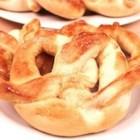 Bread Pretzels - This easy to make dough can be shaped into pretzels or long bread sticks.