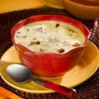 New England Clam Chowder I - Potatoes, half and half, bacon, and clams.  This is the New England chowder of your childhood.  Easy to make, ready in less than half an hour, a great dinner standby.