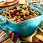 Black Bean Salsa - An addictive black bean corn salsa--Here's the black bean salsa you've been looking for. You know how to make salsa the traditional way--now, try our black bean corn salsa for a fun surprise at parties or at home. Spice things up even more with GOYA(R) Pickled Jalapenos and GOYA(R) Chili Powder. This zesty black bean salsa recipe is perfect as a dip, served with tortilla chips, or used to top nachos and tacos.