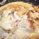 Pork Chops with Delicious Gravy - Pork Chops with a delicious, light gravy. Great to eat with mashed potatoes too!