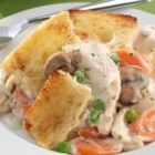 Sister Schubert's(R) Chicken Pot Pie with Bread Topping - No need to mess with pesky piecrust in Sister's recipe for this classic dish.
