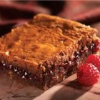 Raspberry Brownies - A layer of raspberry preserves is at the center of these rich brownies.