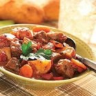 Jammin' Beef Stew - This hearty beef stew can be prepared either on the stove top, or in a slow cooker, depending on your preference.