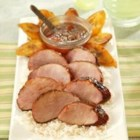 Chili Rubbed Pork Tenderloin With Apricot Ginger Glaze - Prepare the dry rub in advance and store in a cool dry place in an airtight container. The apricot glaze can also be made ahead of time and refrigerated until you are ready to use it.