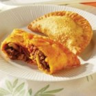 Empanadas (Beef Turnovers) - The perfect pastry for all meals! Empanadas, or beef turnovers, are discs of pastry packed with meat. Some turnover recipes call for all manner of fillings, but this GOYA(R) Empanada recipe features a delicious tomato, onion, garlic and beef mixture. You can enjoy empanadas as an appetizer, a main dish, or even after your main course. Use GOYA(R) Discos, or frozen pastry rounds, for a flaky beef turnover that will make your mouth water.