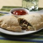 Sausage, Spinach and Ricotta Calzone - Italian sausage and spinach are a great combination!