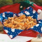 Reindeer Snack Mix - Don't forget the reindeer! Rudolph and his pals will be dashing, dancing and prancing to gobble up this savory snack mix. Humans also will enjoy the buttery, perfectly seasoned and wonderfully crunchy combination.
