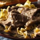 Easy Weeknight Beef Stroganoff - Try this easy version of a fabulous dish ready in minutes!