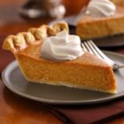 New-Fashioned Pumpkin Pie - A Pillsbury(R) refrigerated pie crust makes pie-making easier than ever! Create this favorite anytime of year.
