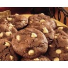 Chocolate Peanut Butter Chip Cookies  - These chocolaty cookies with peanut butter chips are delicious!  The use of biscuit baking mix makes them easy to prepare.