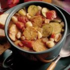 Hearty Minestrone - With a soup this rich and hearty, you won't need the sandwich!