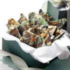 Magic Mint Chocolate Bark - What a refreshing way to enjoy the decadent duo of mint and chocolate. Swirling dizzying designs adds some artistic flair, and fun, to this unforgettable treat.