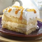 Caramel Banana Tiramisu - A great fall dish! This classic Italian dessert with a caramel apple twist uses Marzetti(R) Old Fashioned Caramel Dip.