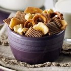 Shreddies Coco Crunch Mix - This crunchy snack mix with dried banana chips is tossed with sweetened cocoa mix for a quick and tasty snack.