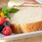 Filippo Berio Olive Oil Pound Cake - This rich pound cake, moist and lightly scented with orange and vanilla, can be served on its own or with fresh fruit or toppings.