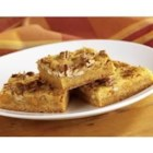 Butterscotch Blondies - Blonde brownies are dotted with butterscotch chips to make these chewy bars extra delicious.