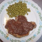 Photo of: Pork Chops with Pear Sauce - Recipe of the Day