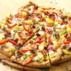 Breakfast Pizza from Pillsbury(R) Artisan Pizza Crust - Wake up to a pizza topped with bacon, eggs and bell pepper that was meant for breakfast!